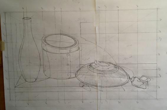 Silver Bowl & Orange box- corrected drawing 1