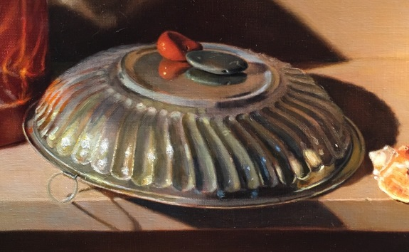 Silver Bowl and Orange box- perfecting silver bowl